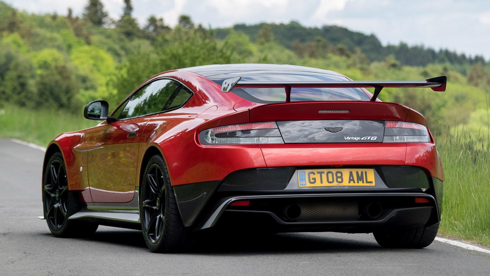 Aston Martin Vantage Gt8 2016 Review Car Magazine