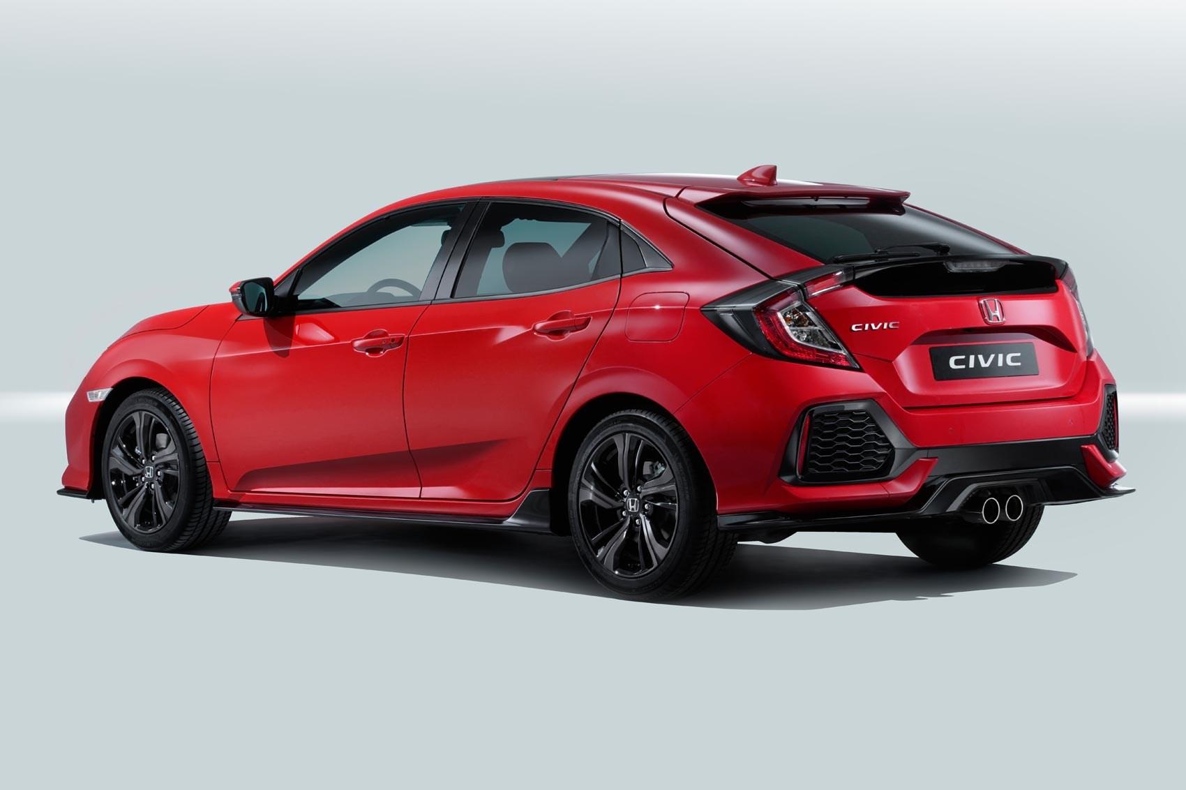 New 2017 Honda Civic Hatchback Officially Unveiled Car Magazine