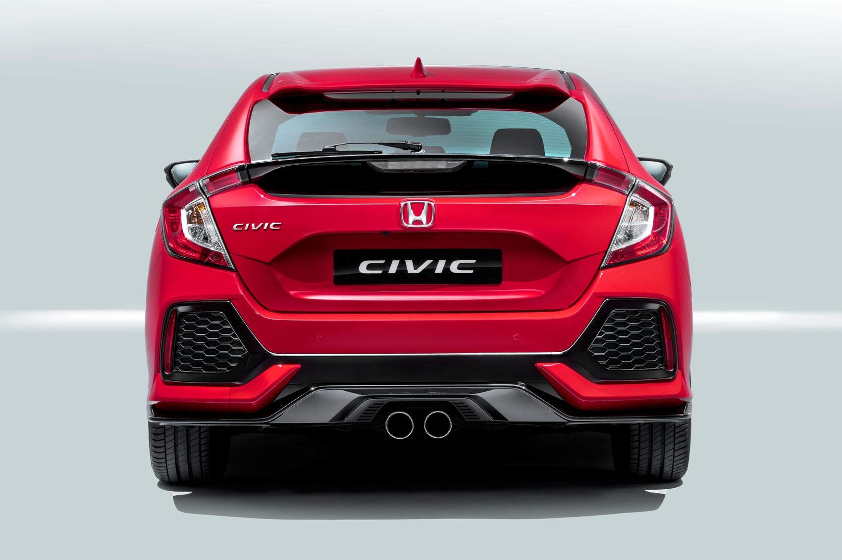 New Honda Civic >> New 2017 Honda Civic Hatchback Officially Unveiled By Car Magazine