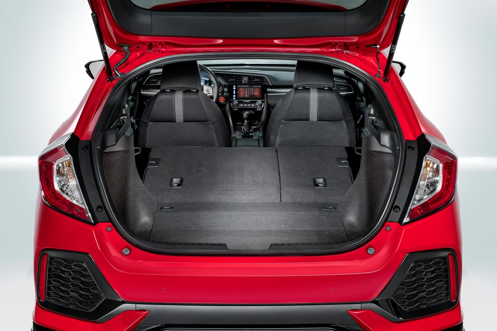 2017 civic hatchback cargo space best new cars for 2018 for Honda civic trunk