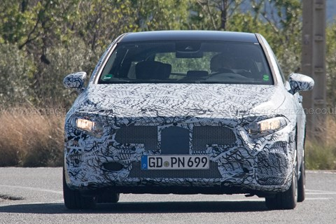 Mercedes-AMG A40 spy photos