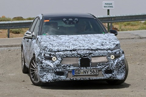 2017 Mercedes-Benz A-class spy shots