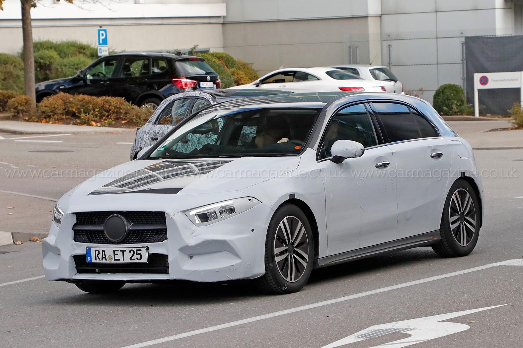 Mercedes benz a class spyshots car magazine for A class mercedes benz