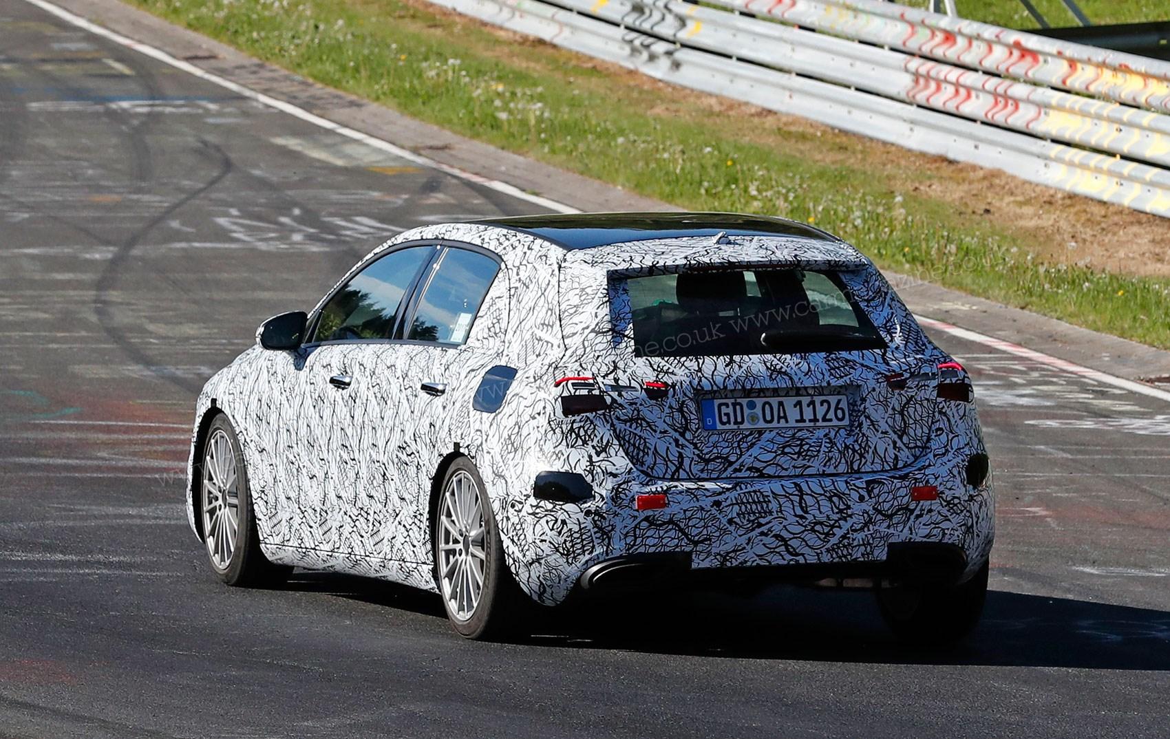 Mercedes benz a class spyshots by car magazine for New mercedes benz a class