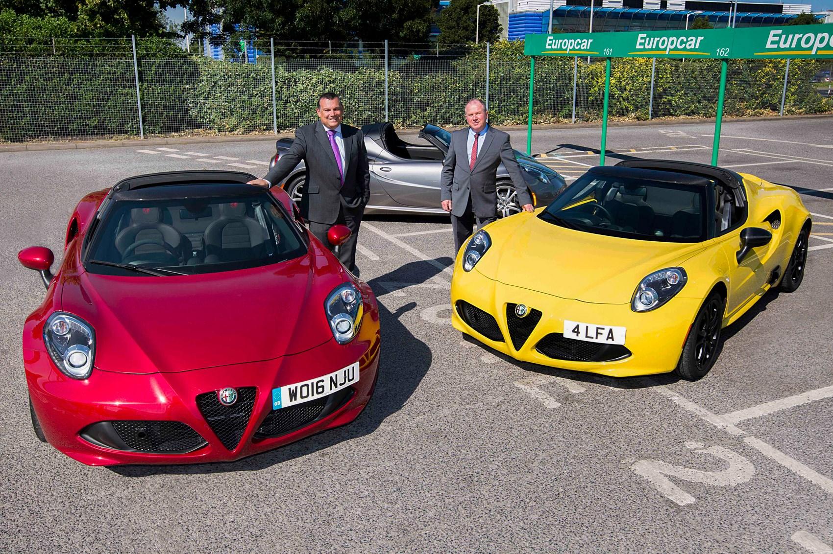 An Italian Fling For 248 Alfa Romeo 4c Spider Added To Europcar
