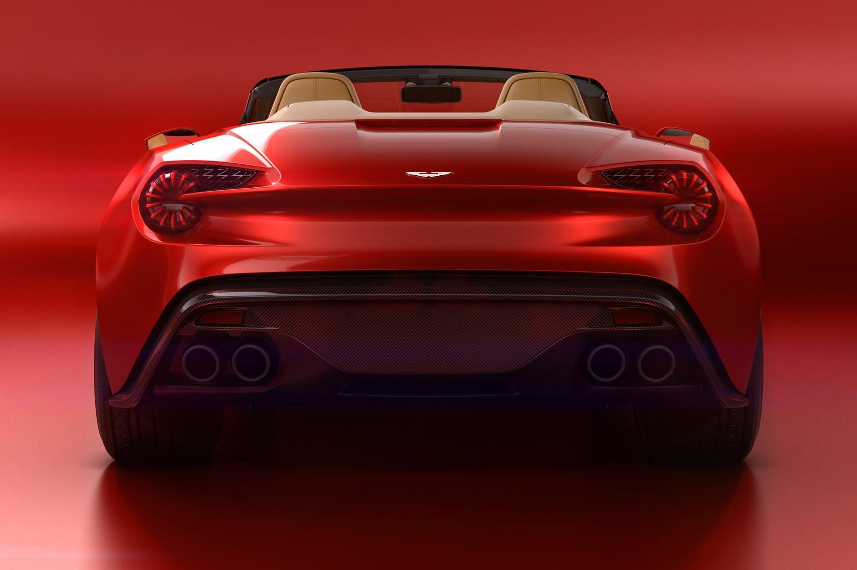 Aston Martin Vanquish Zagato Volante unveiled at Pebble Beach ...