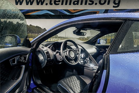 Inside the Jaguar F-type SVR