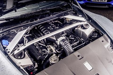 Aston Martin GT8 engine bay