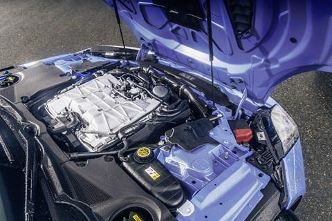 Jaguar F-type SVR engine
