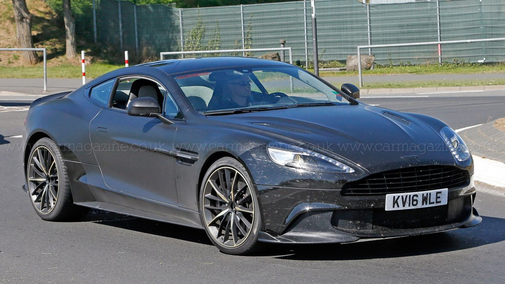 Tried And Tested: Aston Martin Vanquish Zagato Prototype Heads To The  Nürburgring