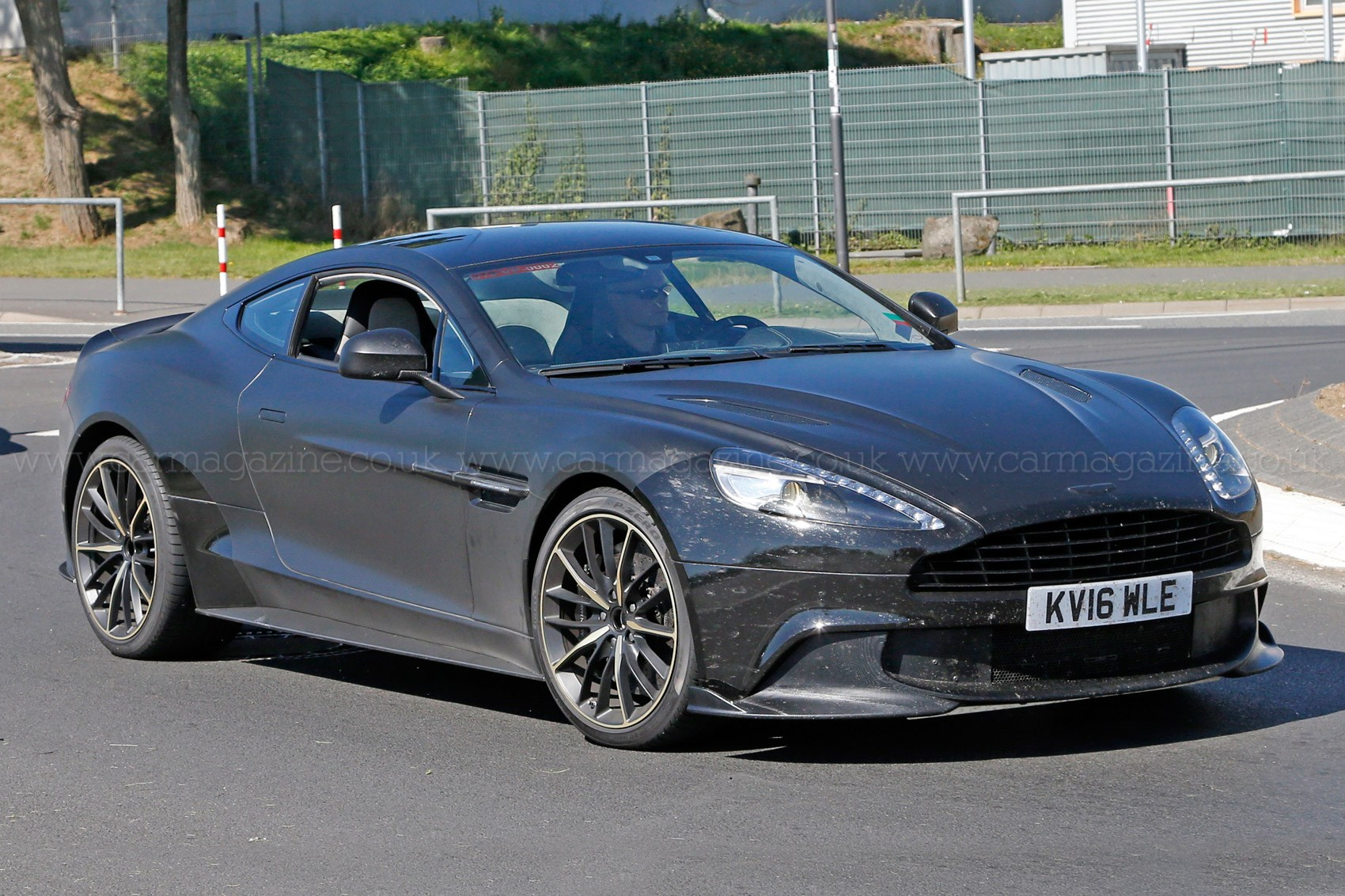 tried and tested aston martin vanquish zagato prototype heads to the n rburgring by car magazine. Black Bedroom Furniture Sets. Home Design Ideas