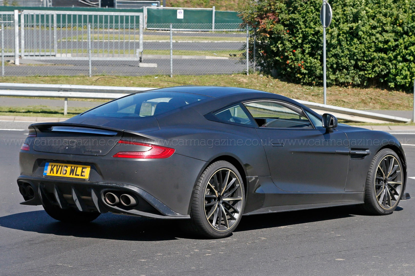 Tried And Tested Aston Martin Vanquish Zagato Prototype Heads To - Aston martin vanquish zagato