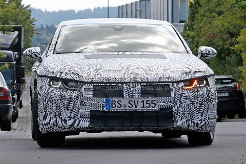 2017 VW CC spy shots