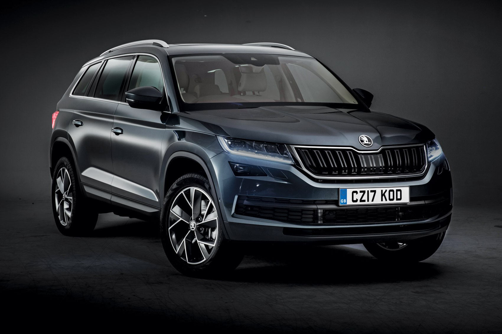 skoda reveals new kodiaq suv in full by car magazine. Black Bedroom Furniture Sets. Home Design Ideas