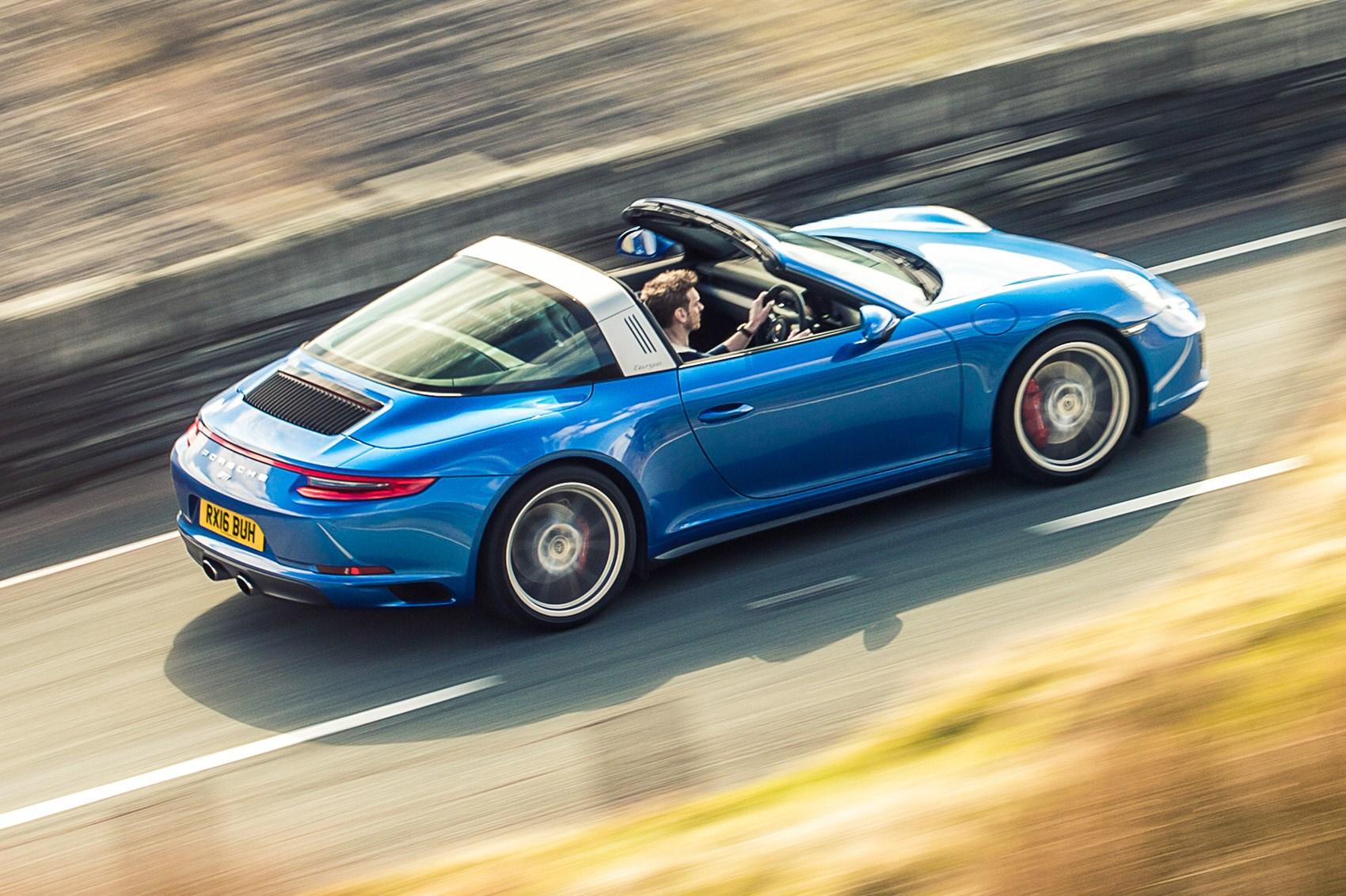 Porsche 911 Targa 4s 2016 Review