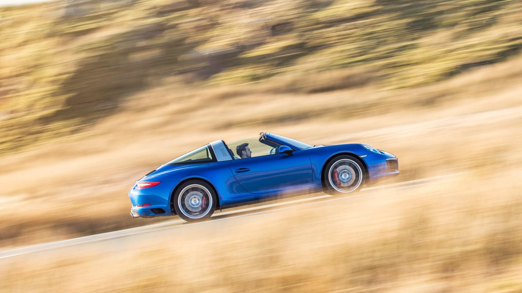 2016 Porsche 911 Targa 4S review