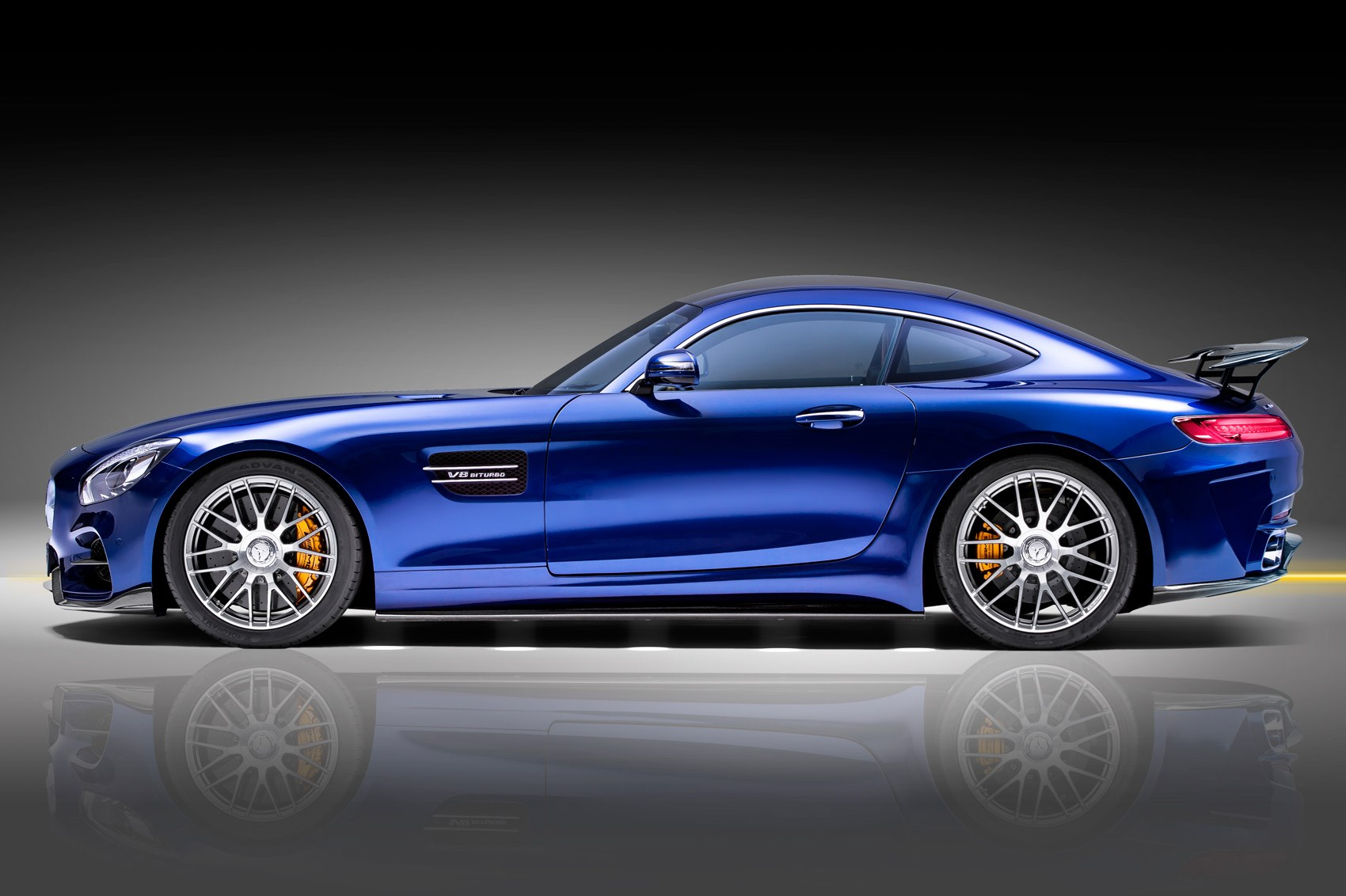 mercedes amg gt s gets piecha makeover by car magazine. Black Bedroom Furniture Sets. Home Design Ideas