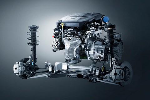 Kia eight-speed automatic