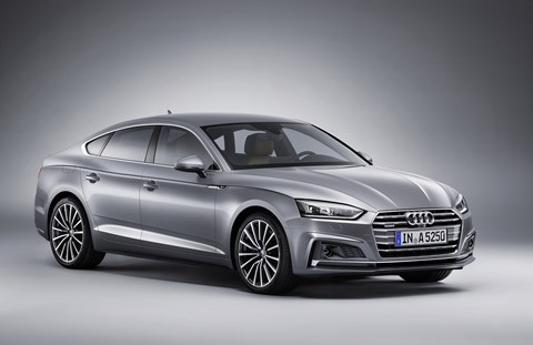The new 2017 Audi A5