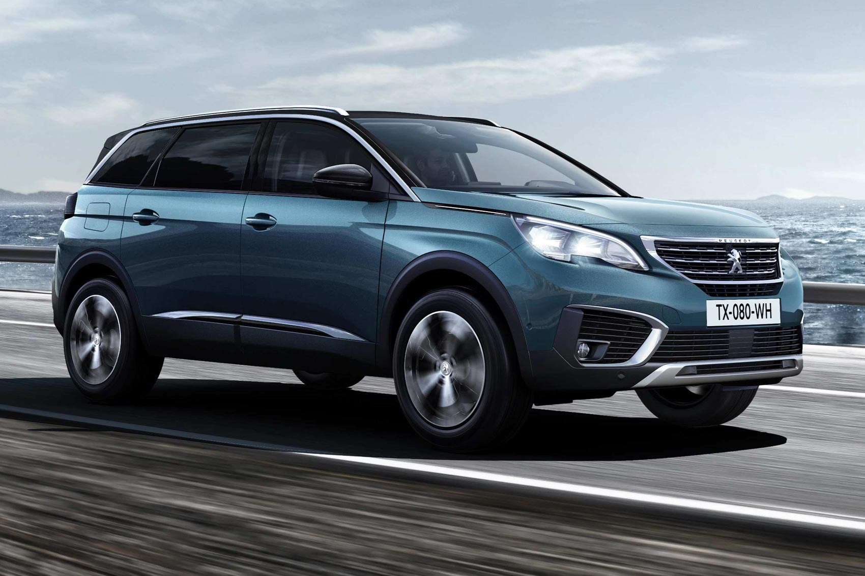 same name very different face new peugeot 5008 unveiled. Black Bedroom Furniture Sets. Home Design Ideas