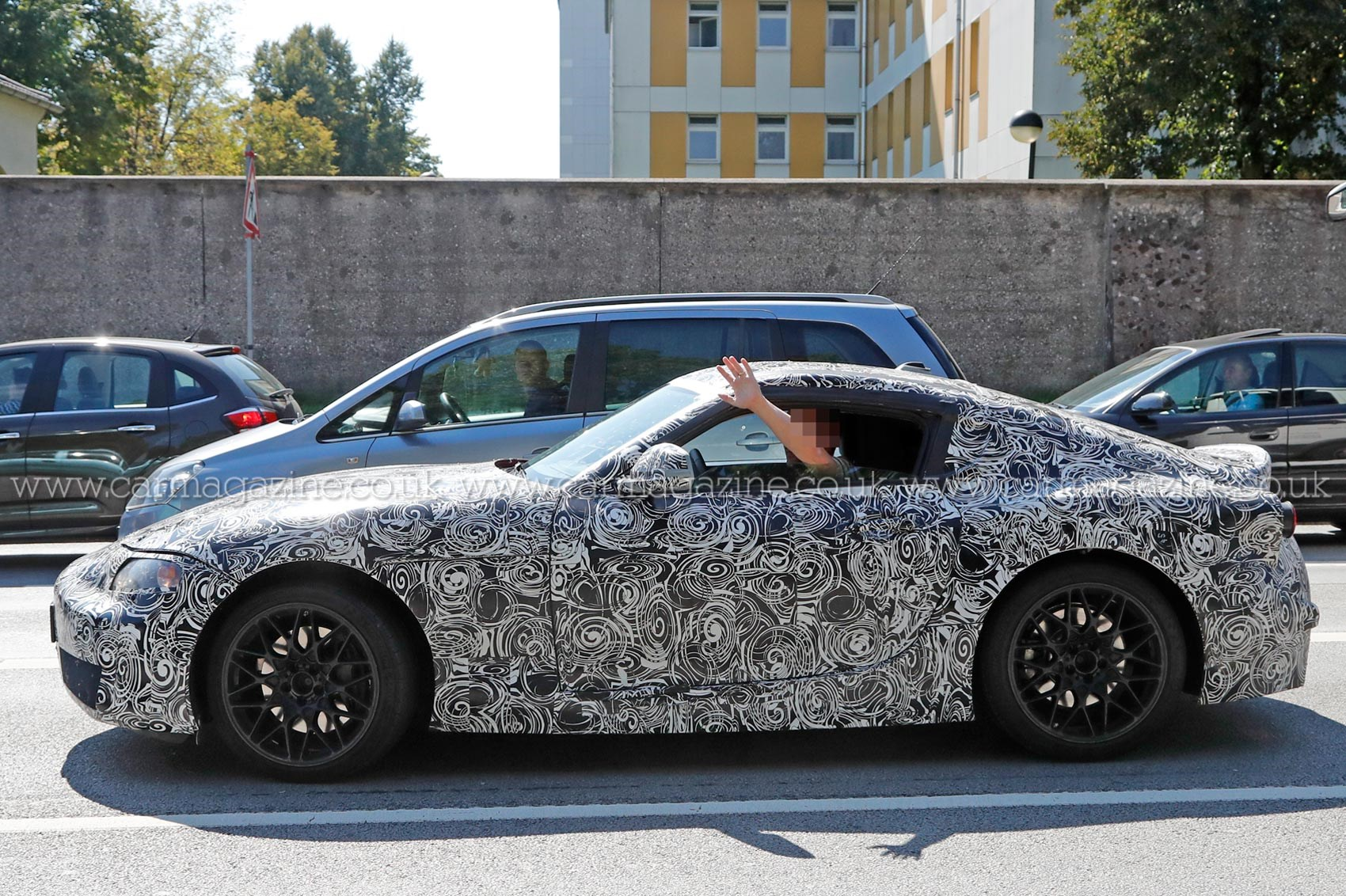 the z4 coupe returns new bmw z5 coupe prototype spotted