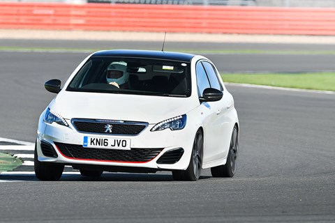 We track our Peugeot 308 GTI at Silverstone