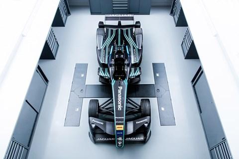 Jaguar I-type 1 race car