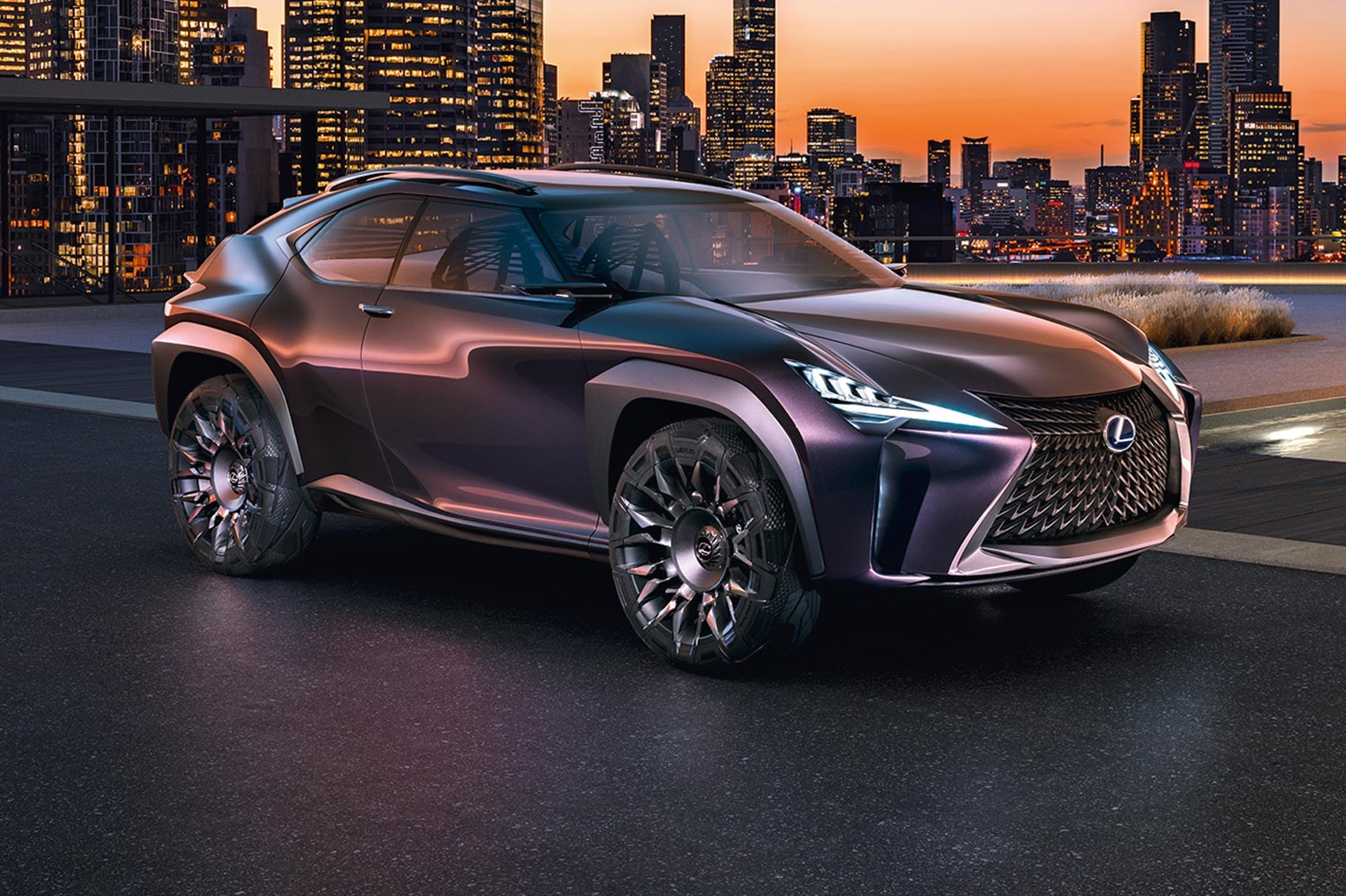 French fancy: Lexus UX crossover concept revealed by CAR ...