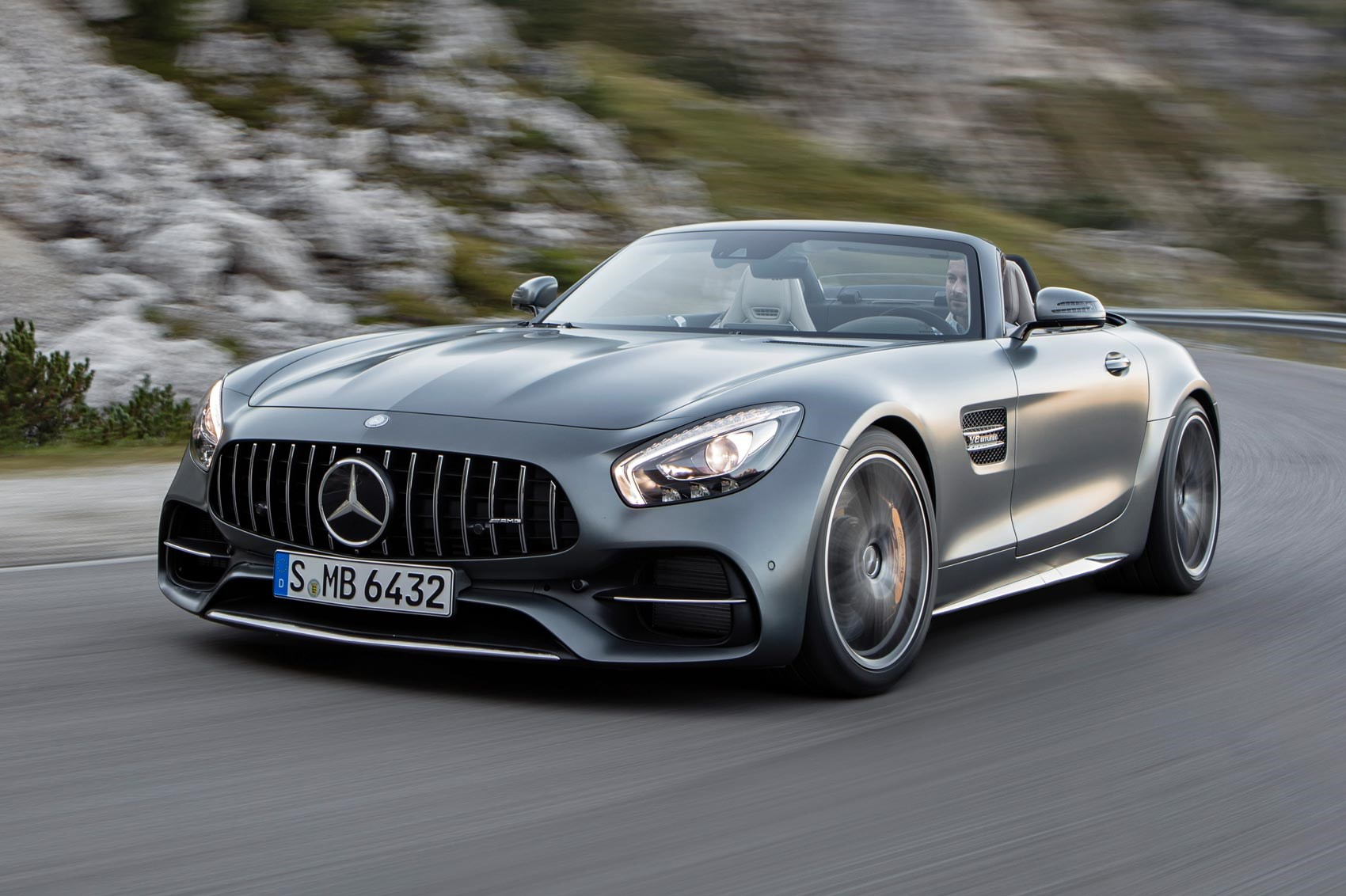 2016 Mercedes Amg Gt Roadster And C