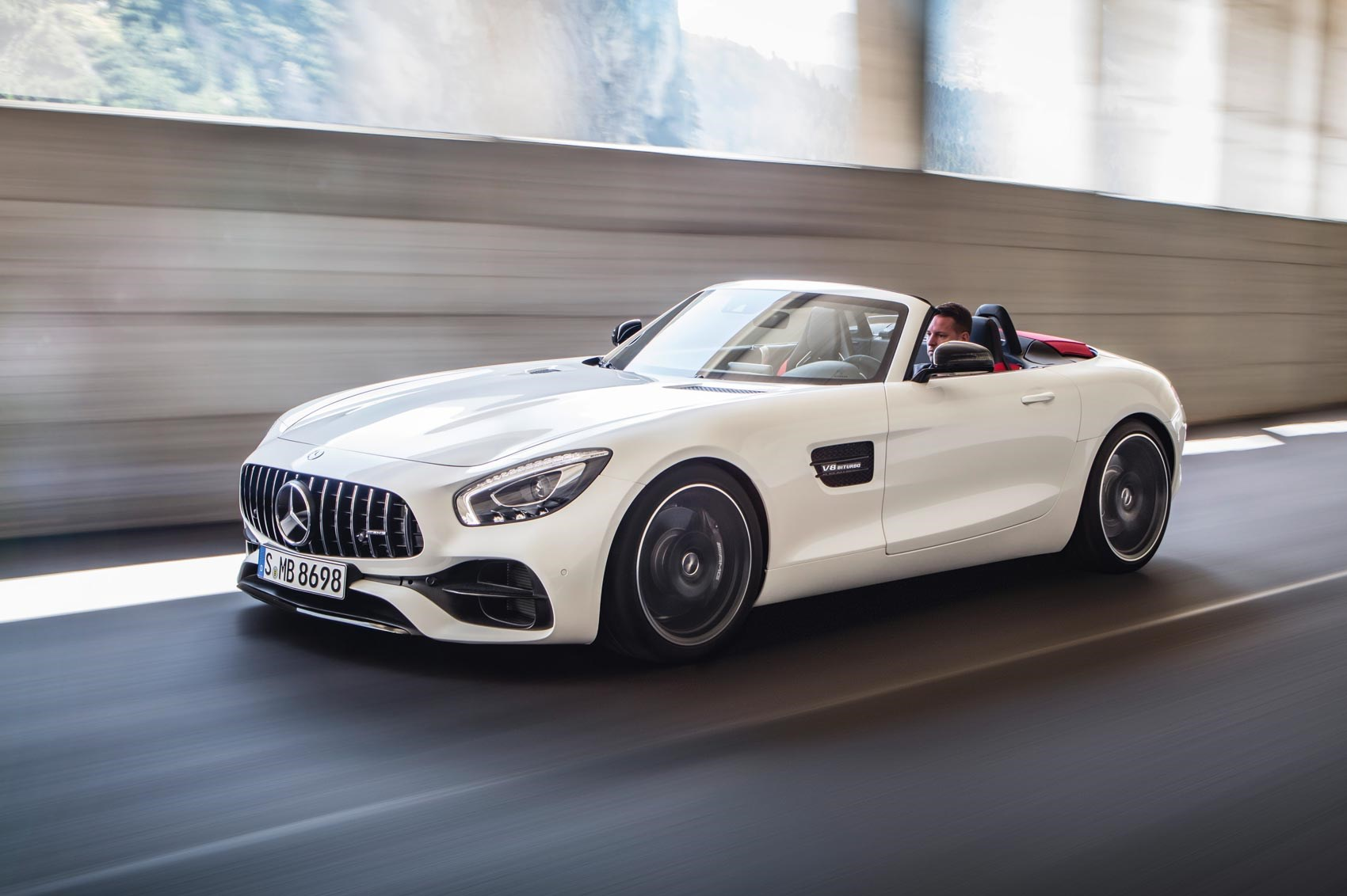 Mercedes amg reveals gt roadster and gt c roadster by car for Mercedes benz amg gt price