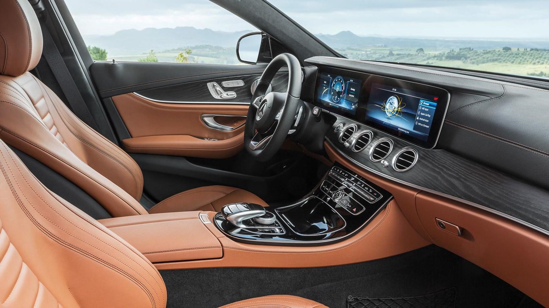 Mercedes-Benz E220d AMG Line Estate (2016) review by CAR ...