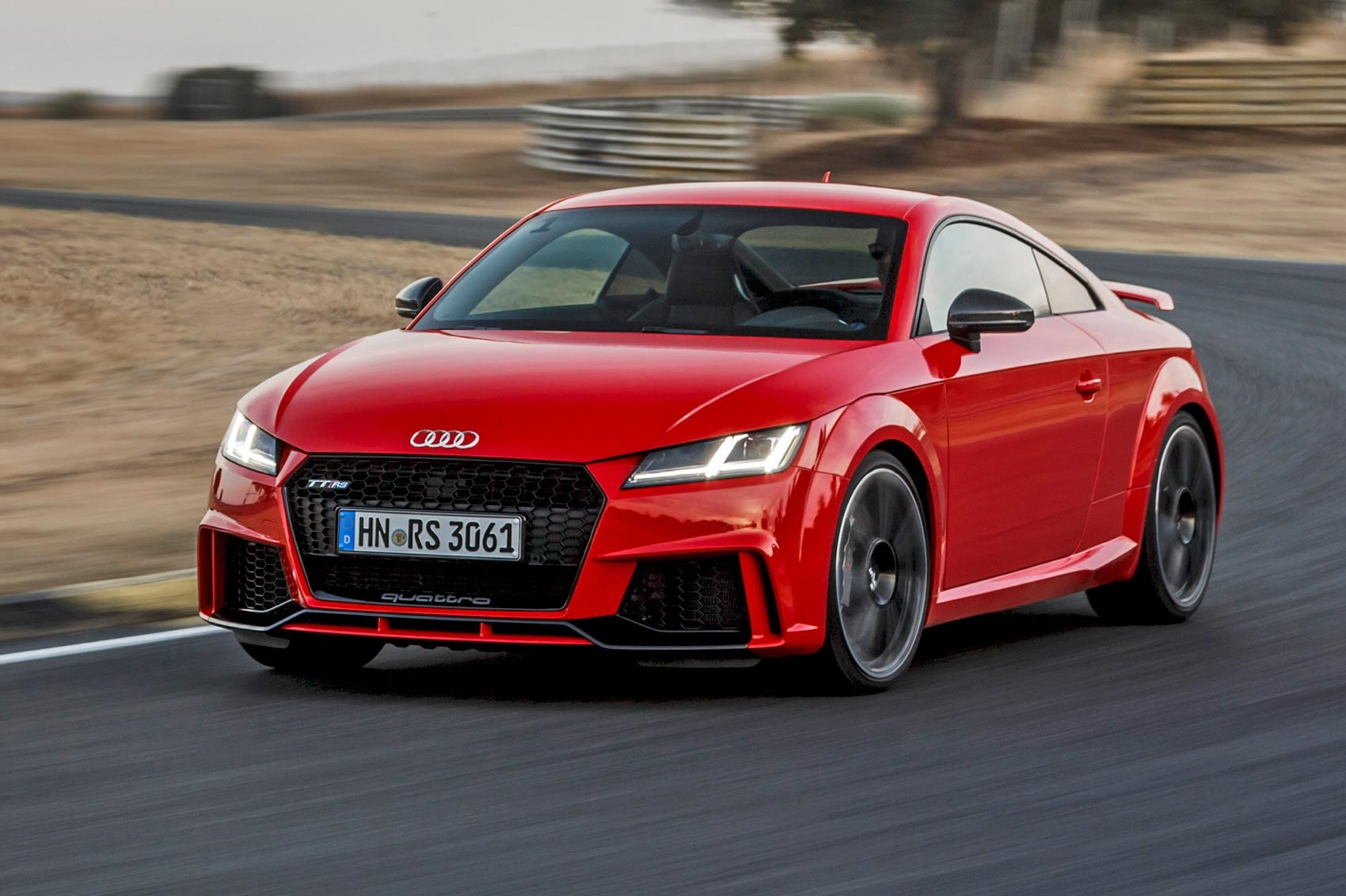 audi tt rs coupe 2016 review by car magazine. Black Bedroom Furniture Sets. Home Design Ideas