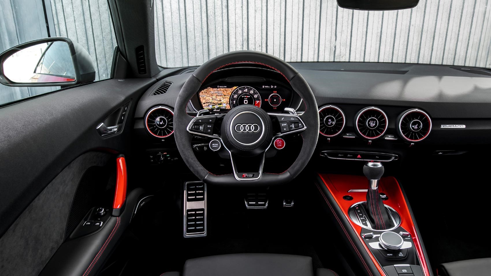Audi Tt Rs Coupe 2016 Review Car Magazine