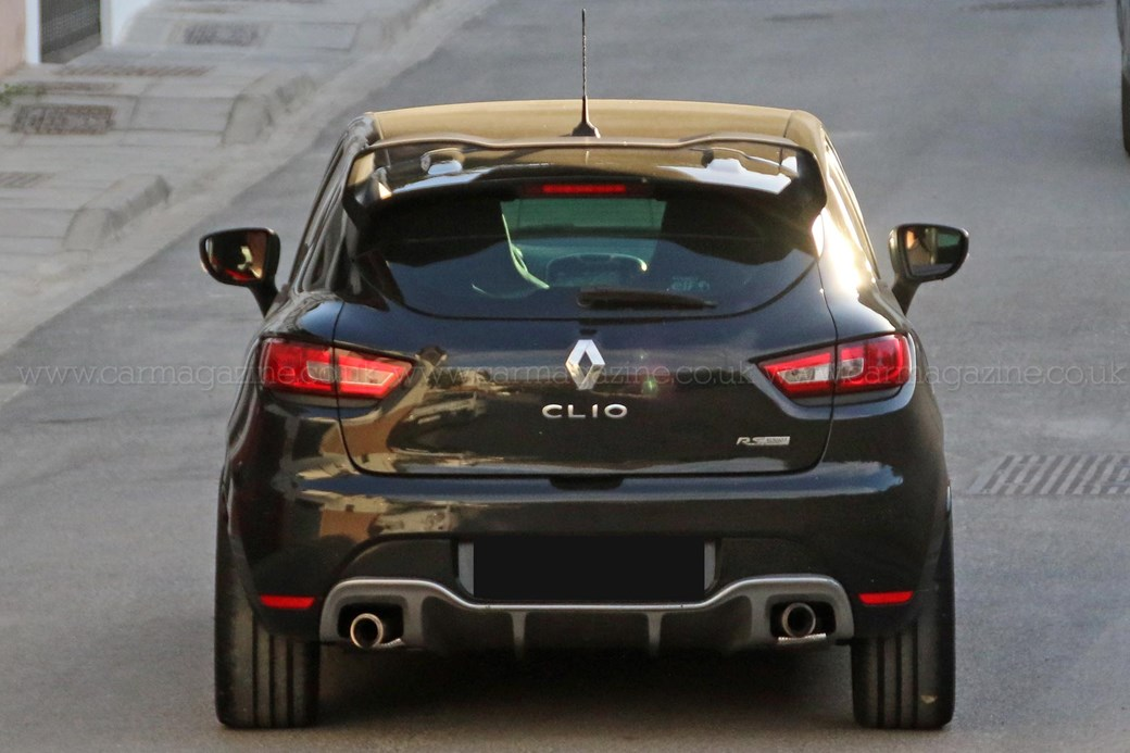 Less Concept More Production Renault Clio Rs 16 Mule Spotted