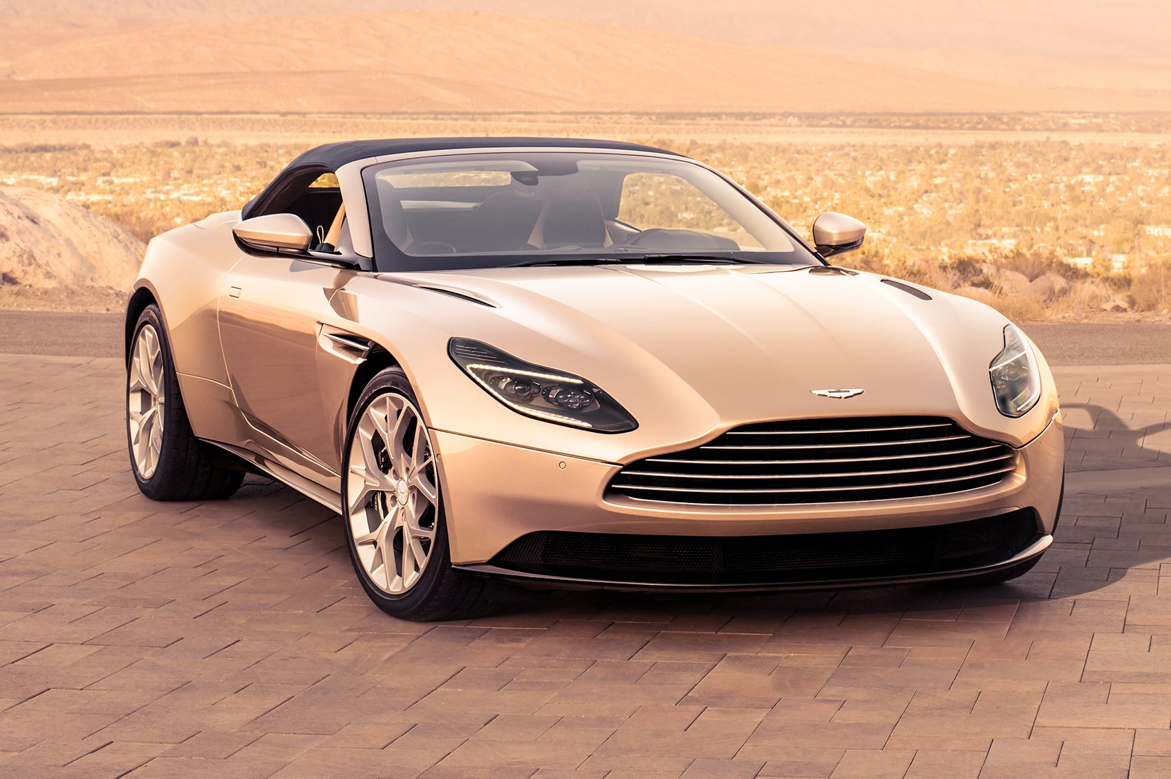 aston martin db11 volante open for business | car magazine