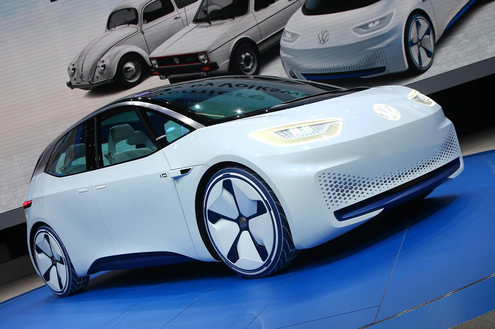 Visionary I.D. heralds VW's all-electric future | CAR Magazine