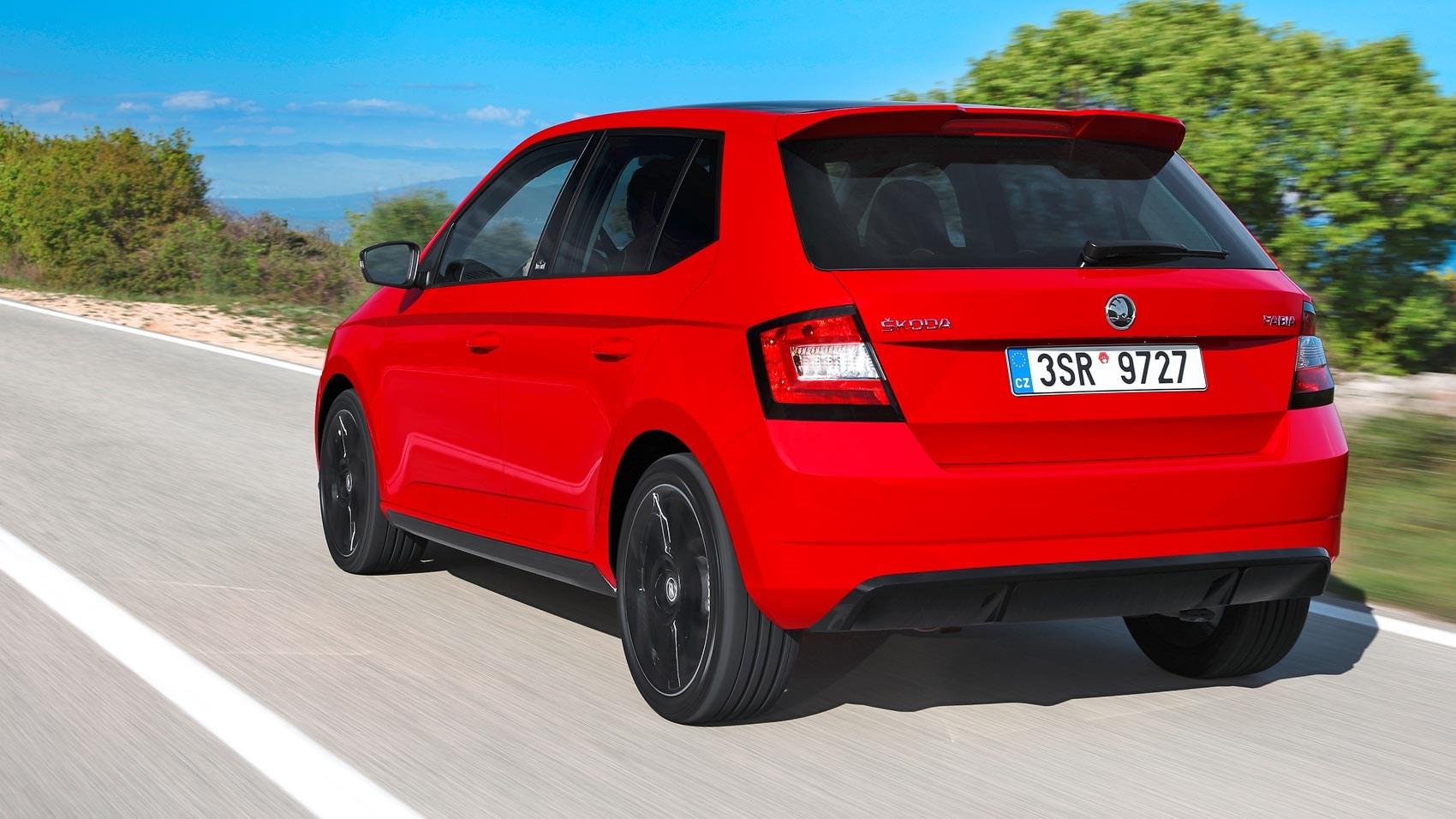 skoda fabia 1 2 tsi 90ps monte carlo 2016 review by car magazine