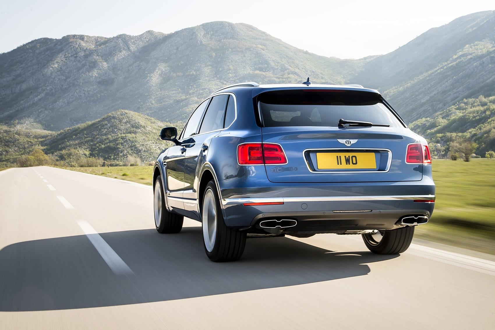 New Bentley Bentayga Diesel Meet The World S Brawniest Derviest Suv Car Magazine
