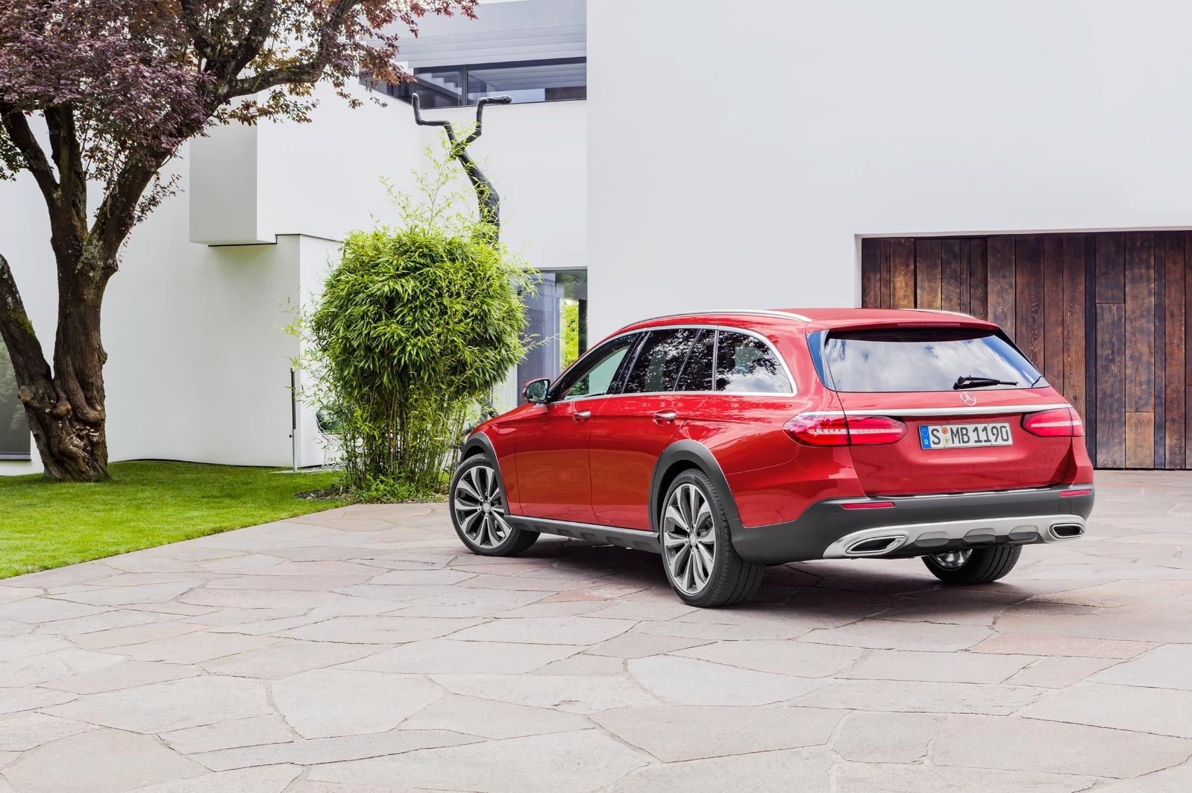 mercedes gets a lift new eclass allterrain revealed by