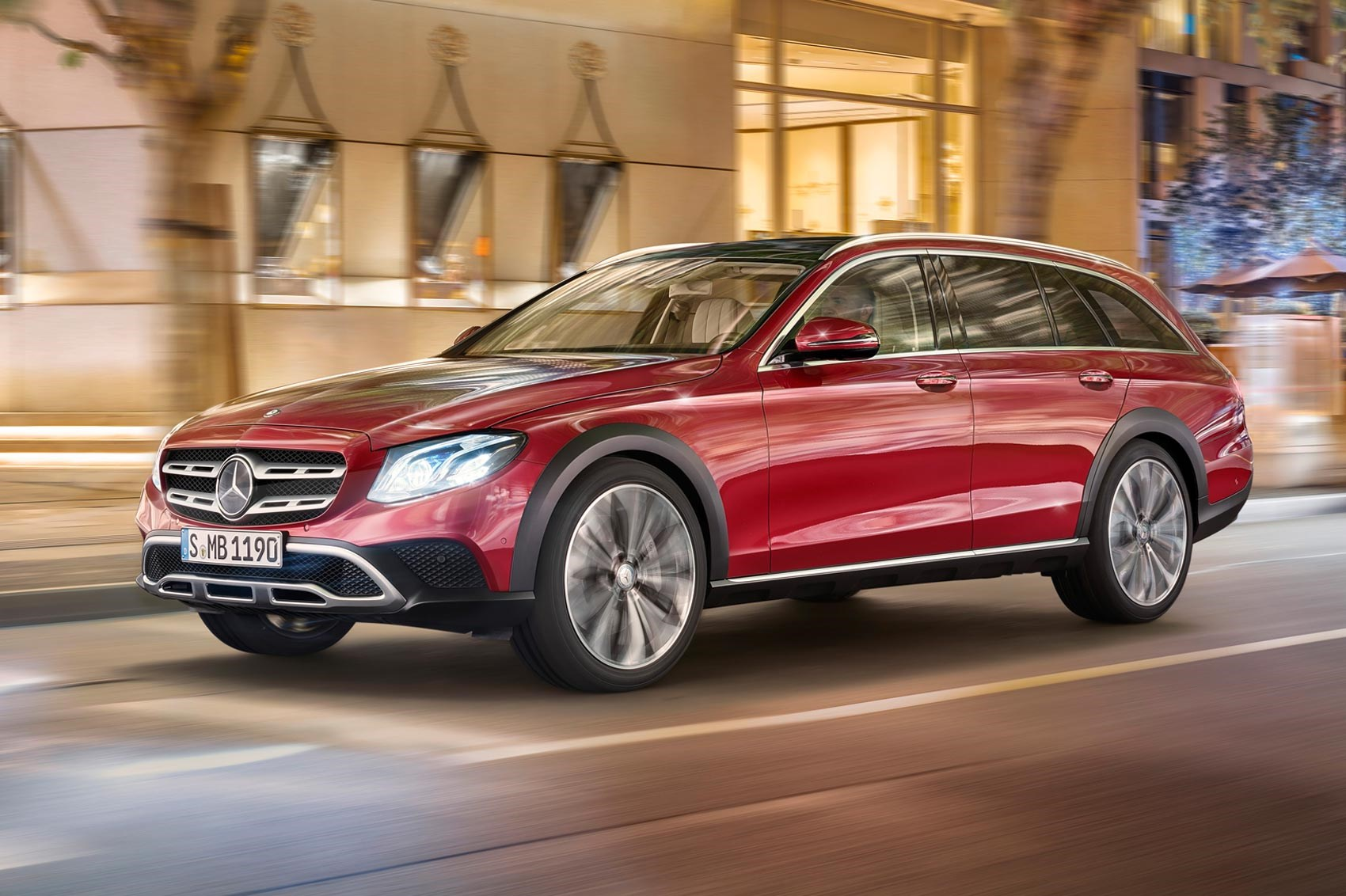 Mercedes gets a lift new e class all terrain revealed for All classes of mercedes benz