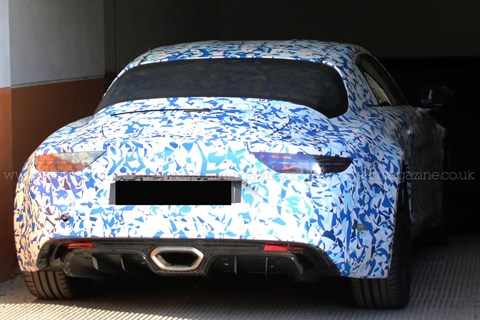 2017 Alpine sports car prototype