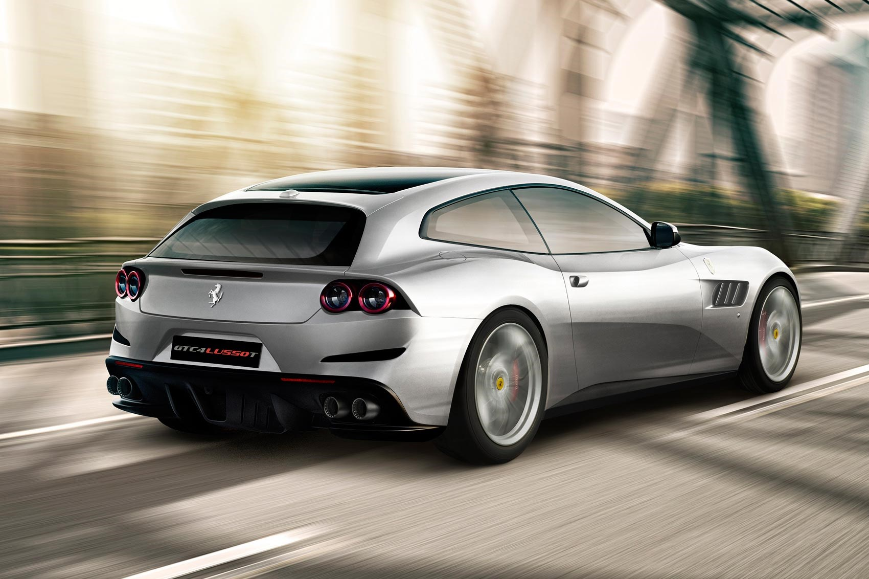 It S A V8 Mate New Ferrari Gtc4 Lusso T Unveiled By Car