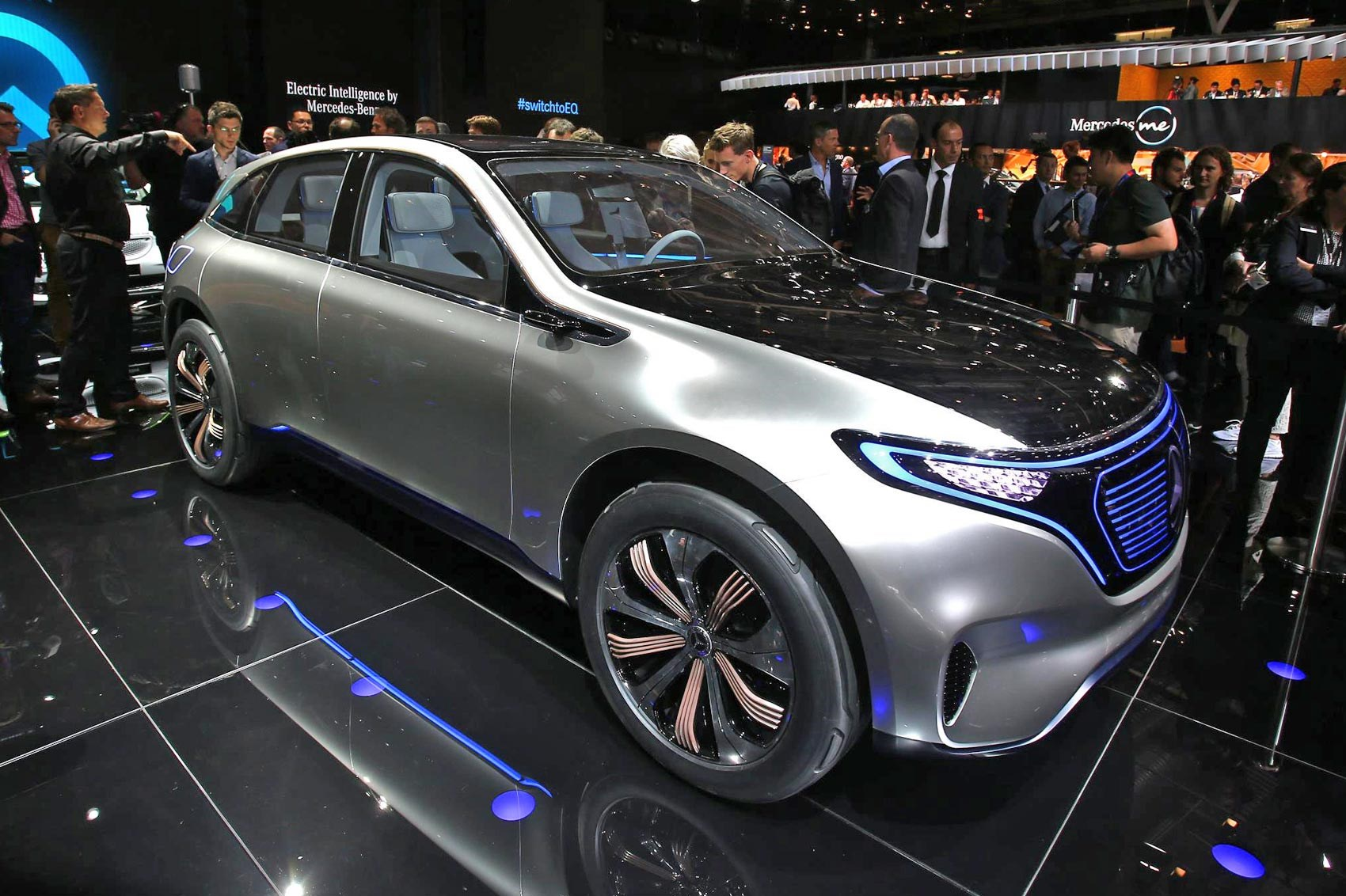 Mercedes project i moment meet the new generation eq for New electric mercedes benz