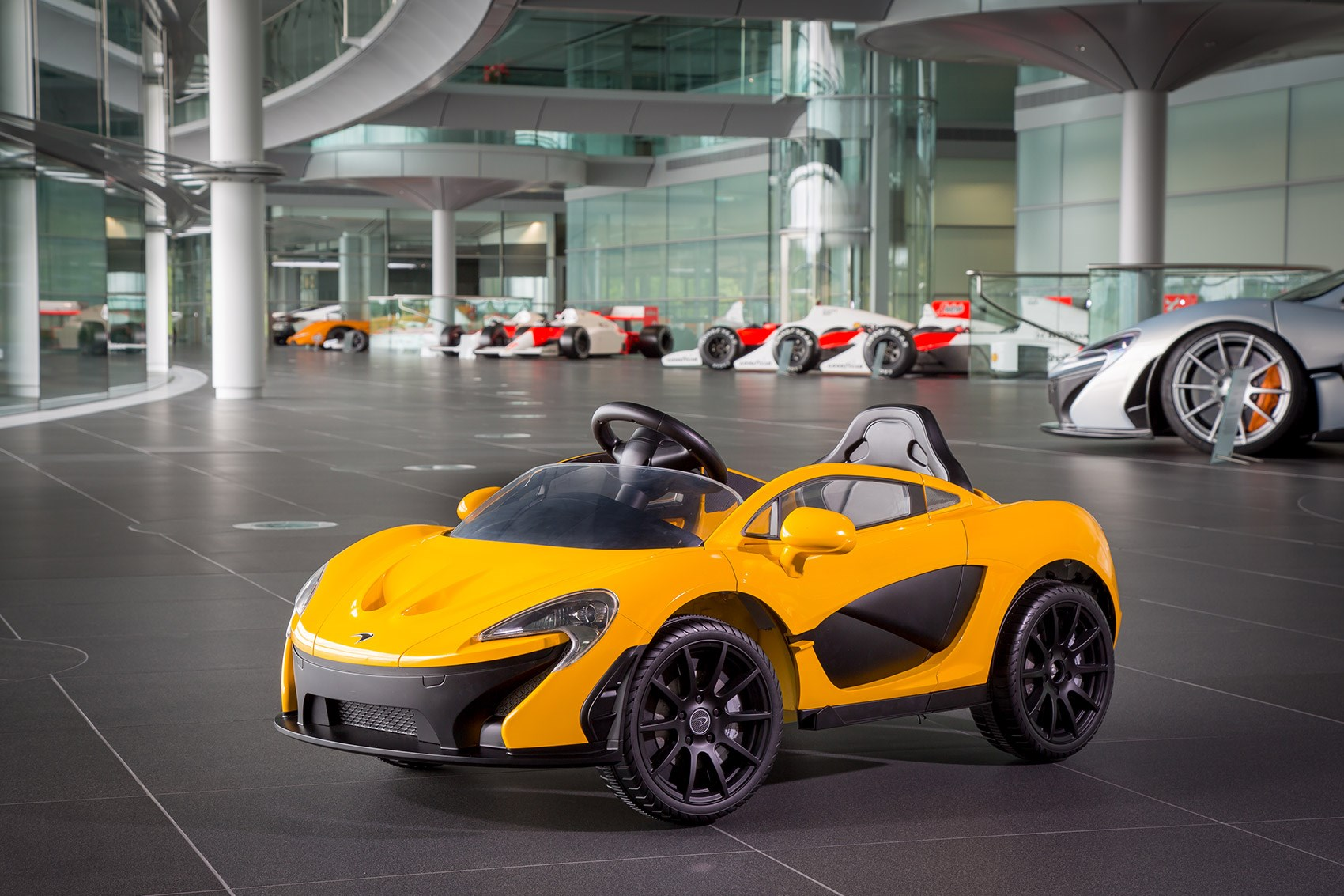 For the child who has everything the electric ride on McLaren P1