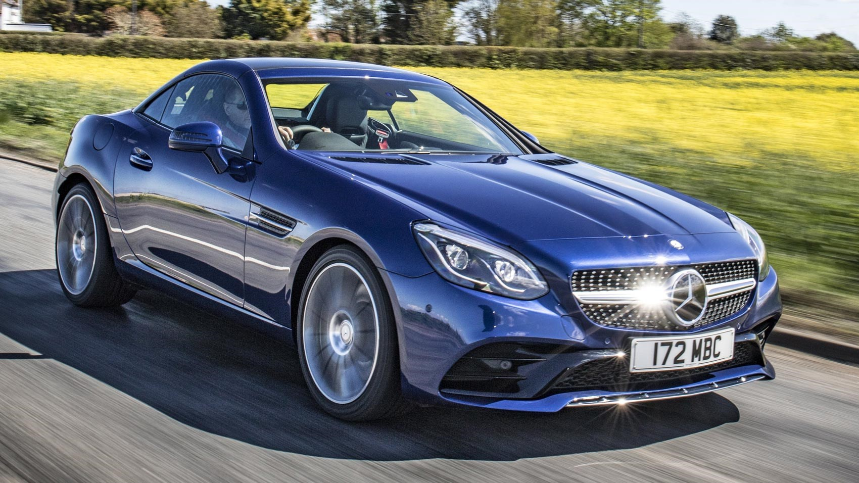Mercedes-Benz SLC 250d AMG Line (2016) review | CAR Magazine