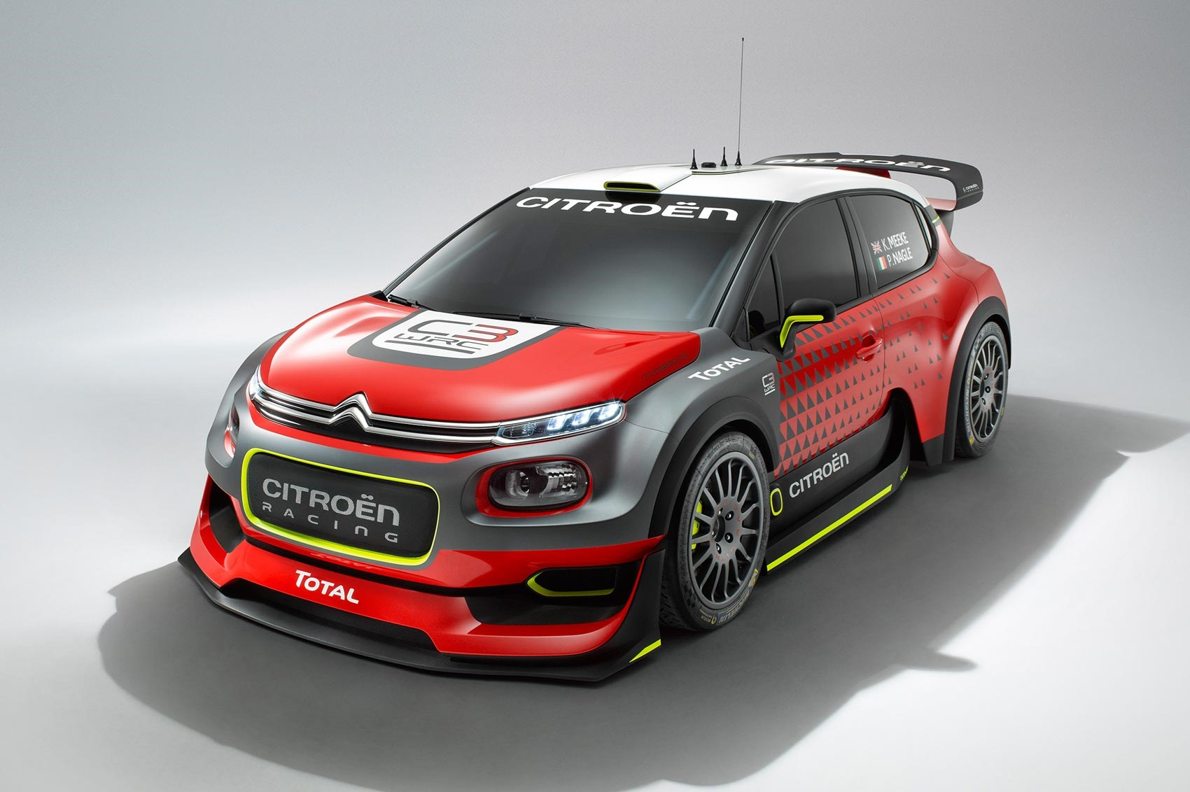 new 2017 citroen c3 wrc concept unveiled by car magazine. Black Bedroom Furniture Sets. Home Design Ideas