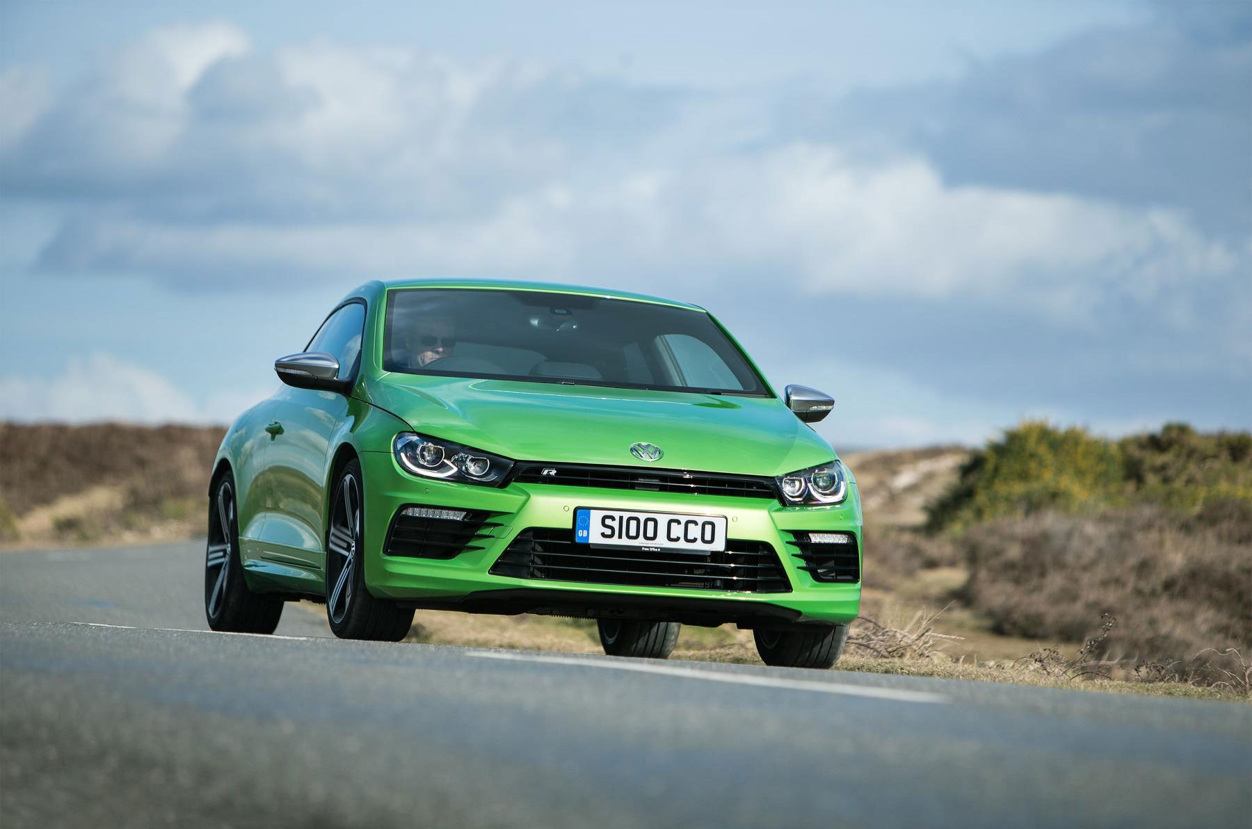 The Vw Scirocco Very Green