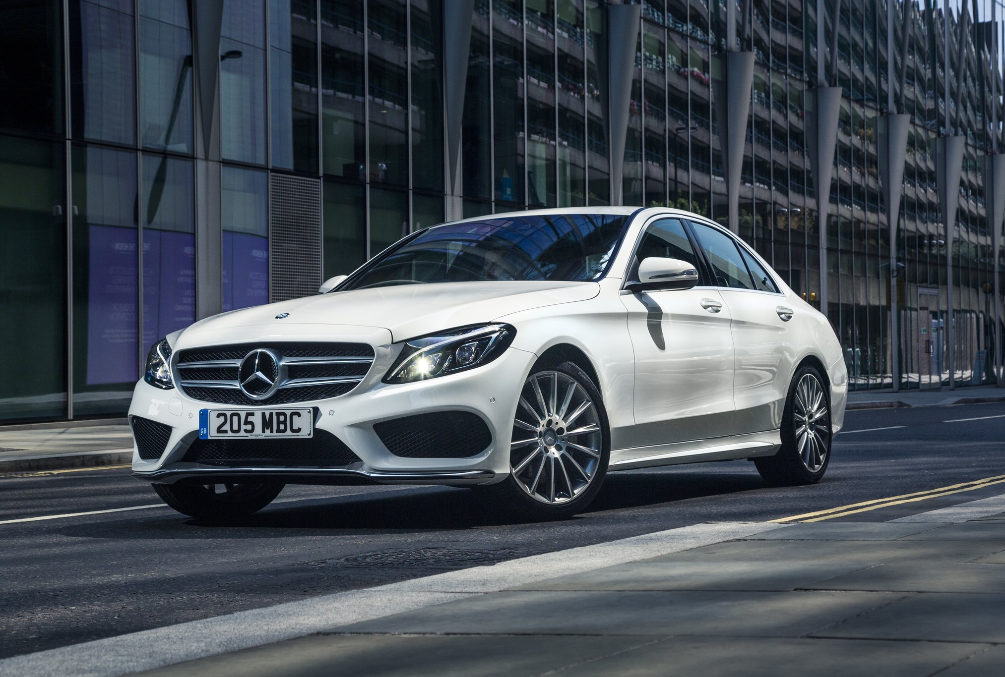 Mercedes c class by car magazine for Average insurance cost for mercedes benz c300