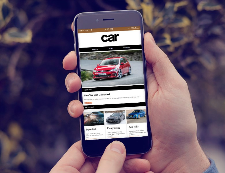 Sign up to the CAR magazine newsletter here!