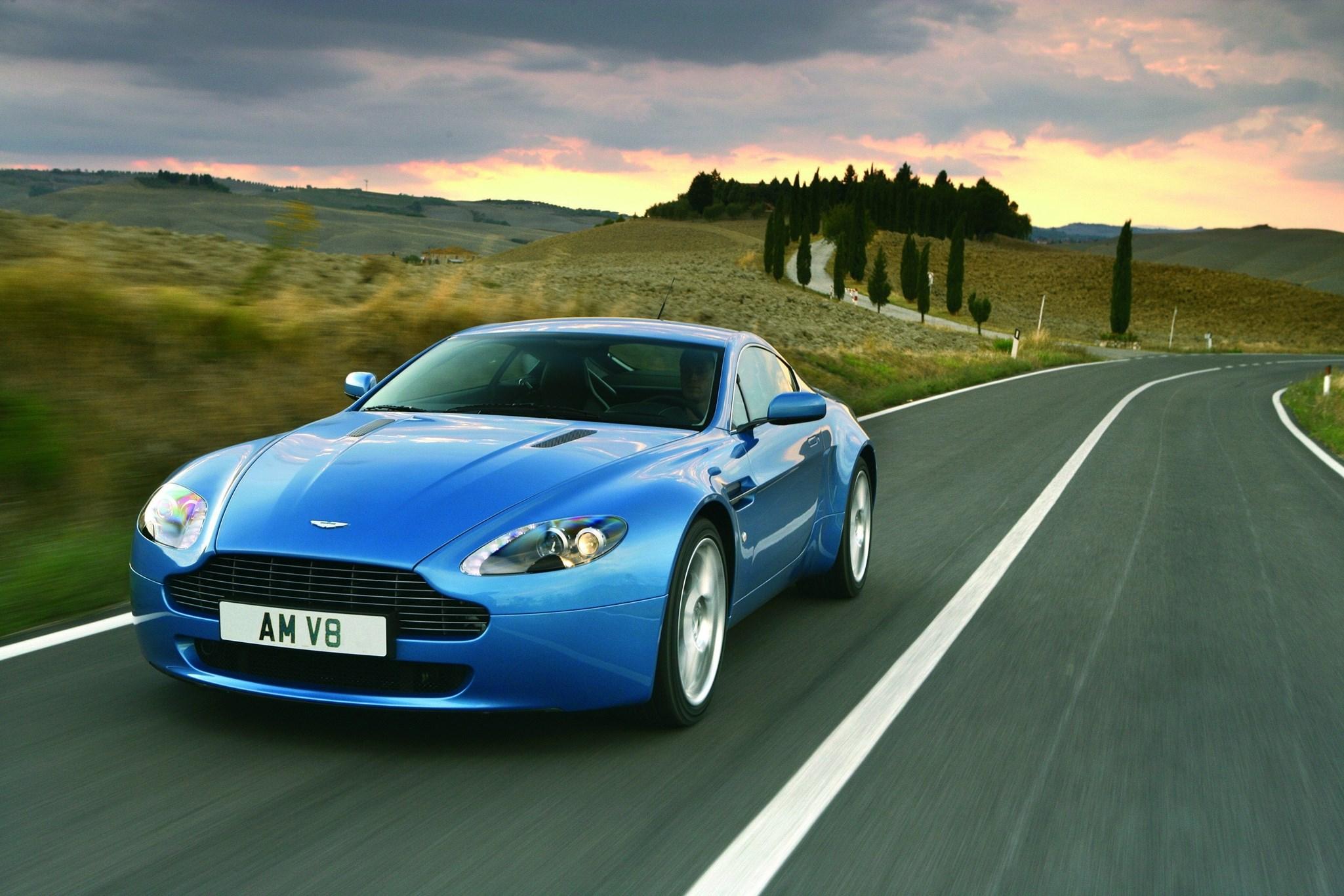 Aston Martin Vantage Car Magazine